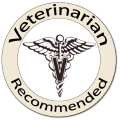 Veterinarian Recommended logo